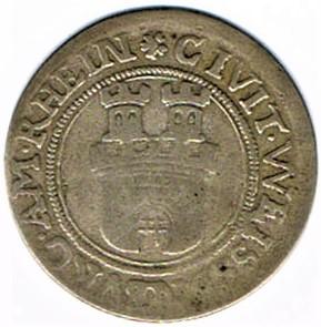 Rahtgelt 1627, municipalité de Wissembourg Ccf28024