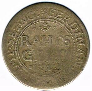 Rahtgelt 1627, municipalité de Wissembourg Ccf28025