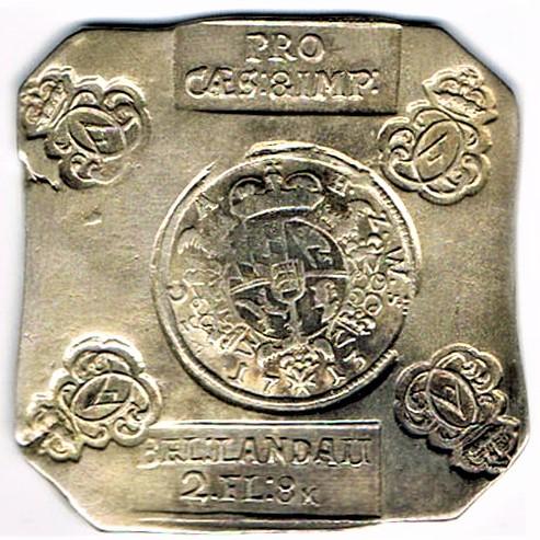 06. Monnaie obsidionale de LANDAU de 2 fls 8 kr de 1713 Landau10
