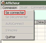 Comment se connecter avec l'afficheur, où le trouver? Affich12