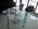 Feb'09 Glass coffee table for sale @ $50. Photo-12