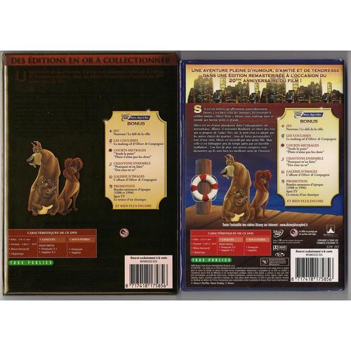 [DVD] Oliver & Compagnie - Edition 20ème anniversaire (2009) - Page 6 85332519