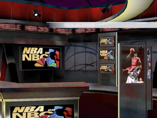NEW NBA ON NBC HALFTIME REPORT AND SCOREBOARD...JORDAN INDUCTED TO HALL OF FAME Nba2k914