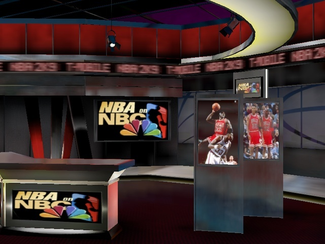 NEW NBA ON NBC HALFTIME REPORT AND SCOREBOARD...JORDAN INDUCTED TO HALL OF FAME Nba2k915