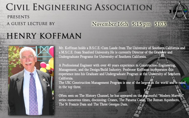 Guest Lecture  By Prof. Henry Koffman Henryk12