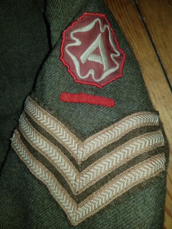 BD du 4eme bataillon fusillée Belge  20210328
