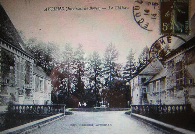 Les Chateaux de l'Orne Cpa_ch10