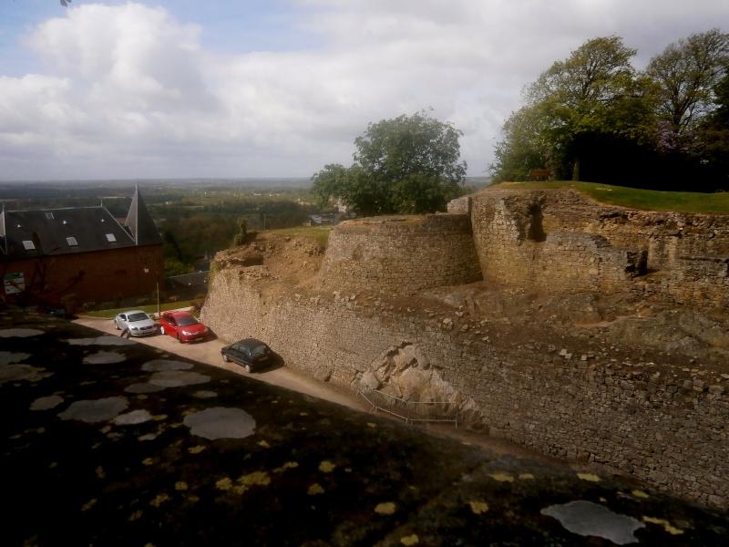 Sortie aux ruines médièvales de Domfront  P5120011