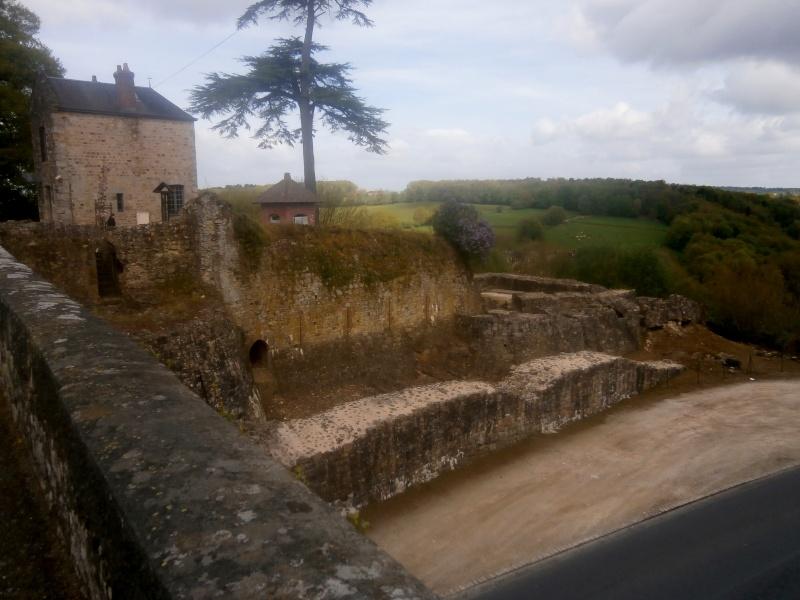 Sortie aux ruines médièvales de Domfront  P5120012
