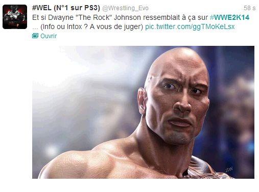 [EXCLU] Dwayne Johnson dévoilé en image sur WWE 2K14 ? Uuuu10