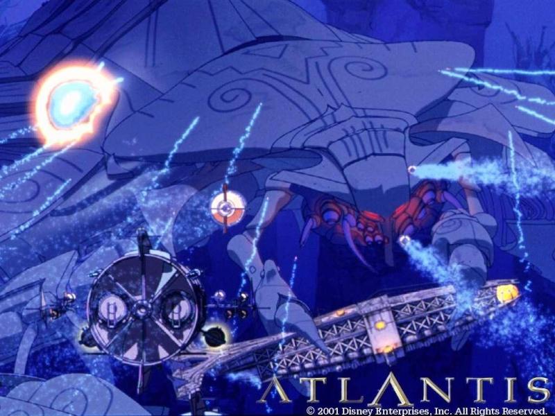 Fonds d'écrans Atlantide l'empire perdu 1019