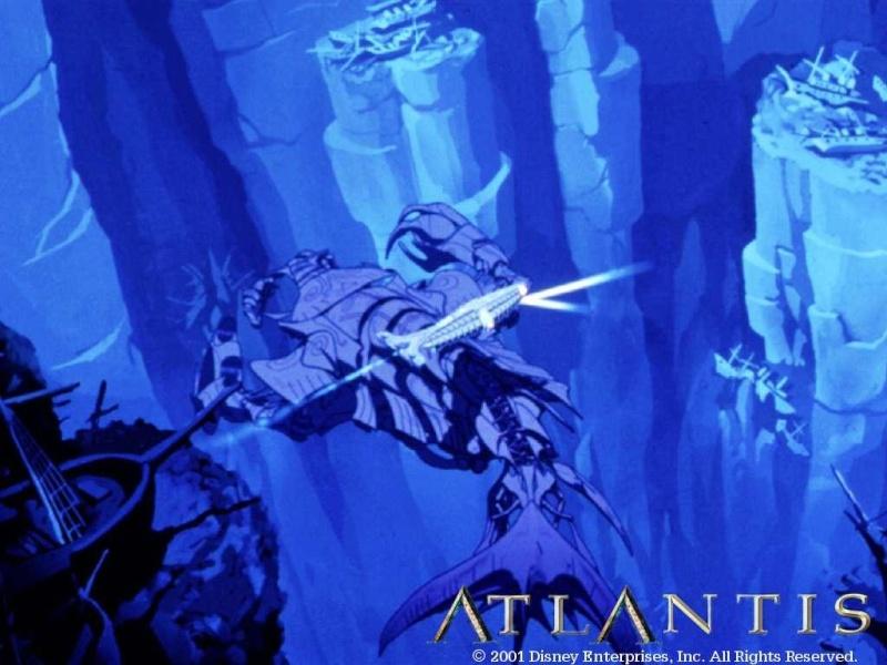 Fonds d'écrans Atlantide l'empire perdu 1118
