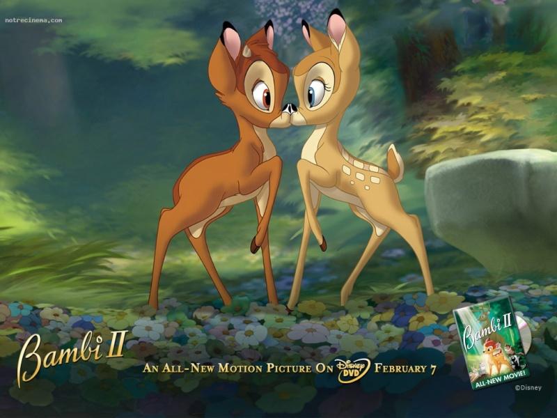 Fonds d'écrans Bambi 1120