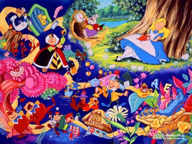 Fonds d'écrans Alice au pays des merveilles 129