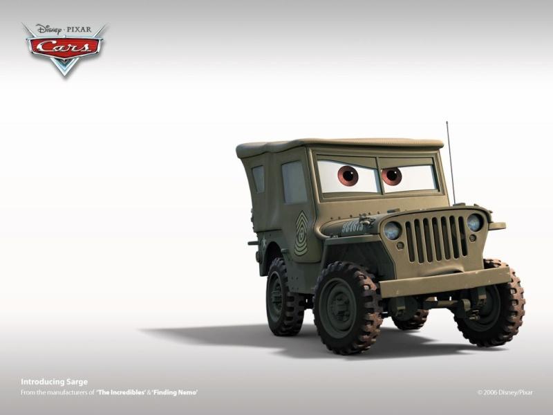 Fonds d'écrans Cars 1322