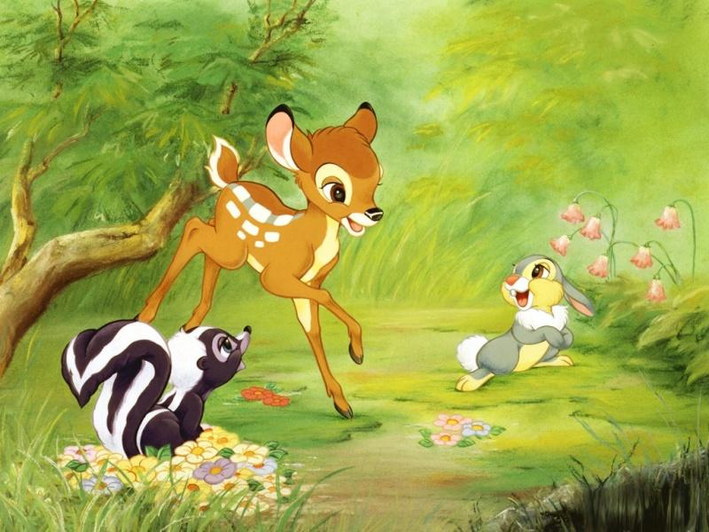 Fonds d'écrans Bambi 133