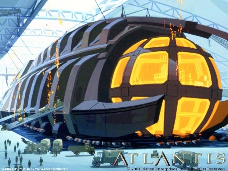 Fonds d'écrans Atlantide l'empire perdu 1515