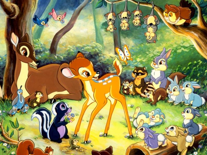 Fonds d'écrans Bambi 421