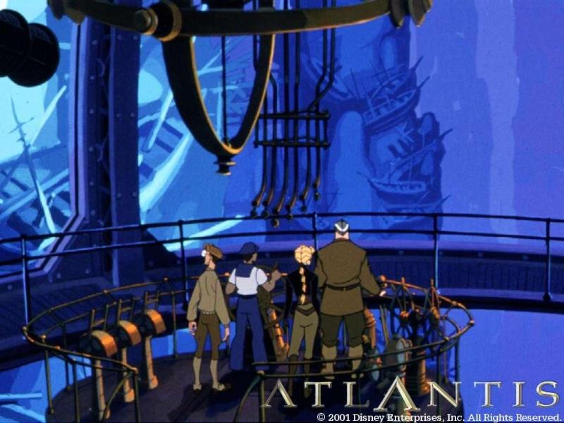 Fonds d'écrans Atlantide l'empire perdu 517