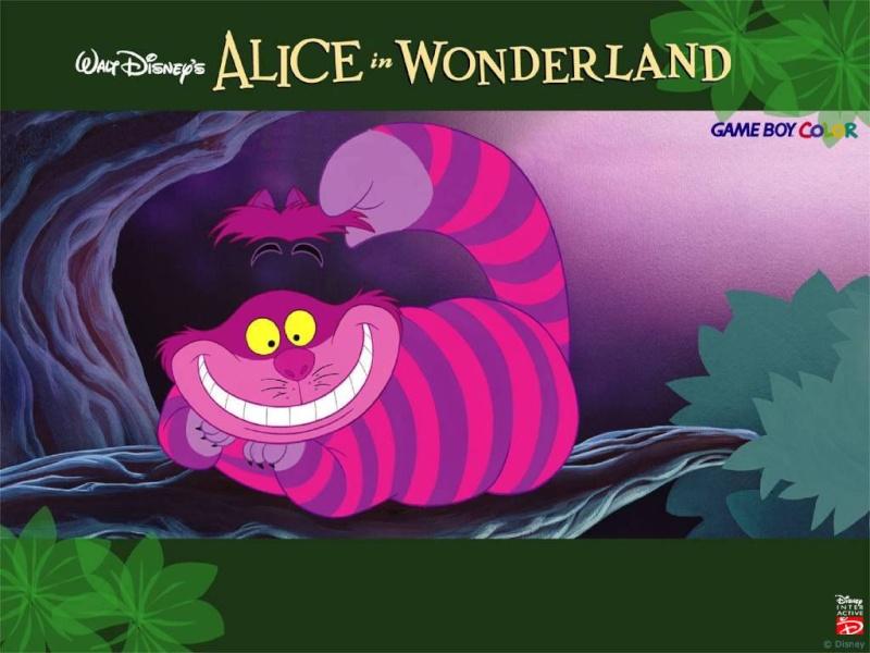 Fonds d'écrans Alice au pays des merveilles 616