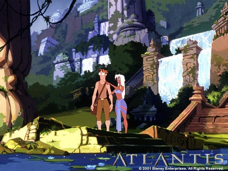 Fonds d'écrans Atlantide l'empire perdu 618