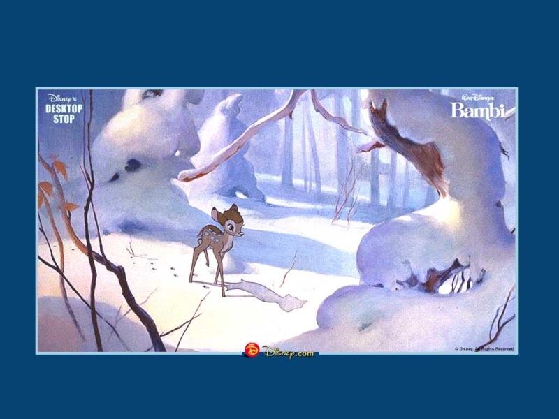 Fonds d'écrans Bambi 718