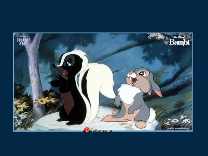 Fonds d'écrans Bambi 819