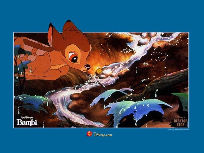Fonds d'écrans Bambi 919