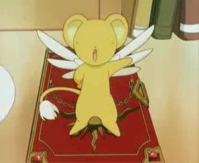 Le manga Sakura chasseuse de cartes (Card Captor Sakura) Kero10