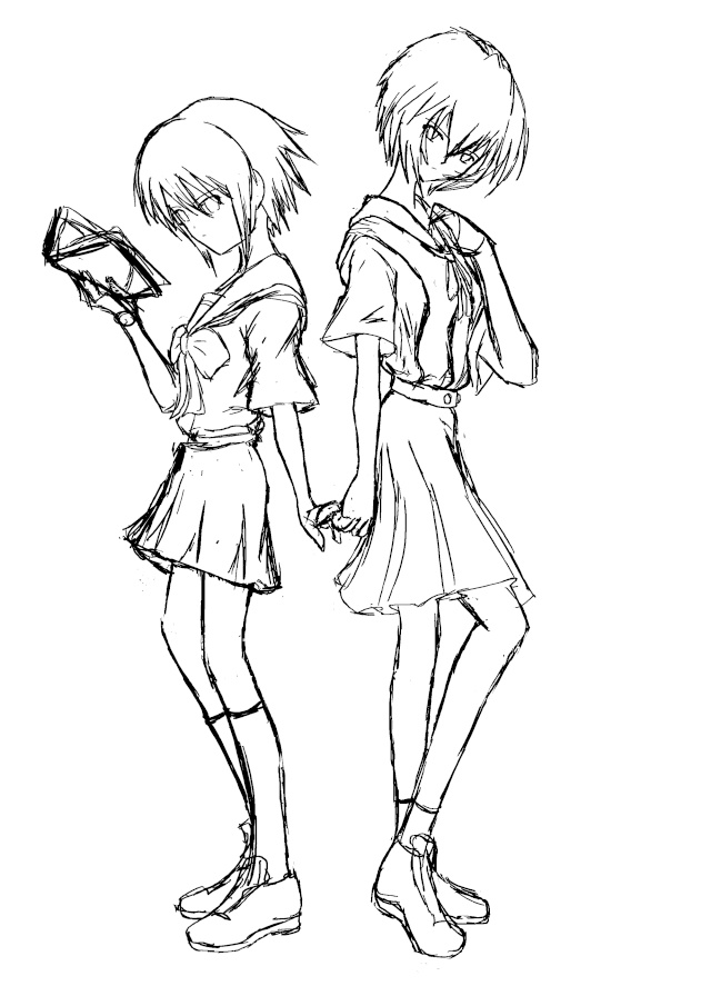 Evangelion group Yuki_r13