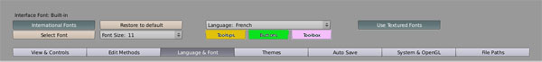 [Fiche] Paramétrer l'interface en Français 311