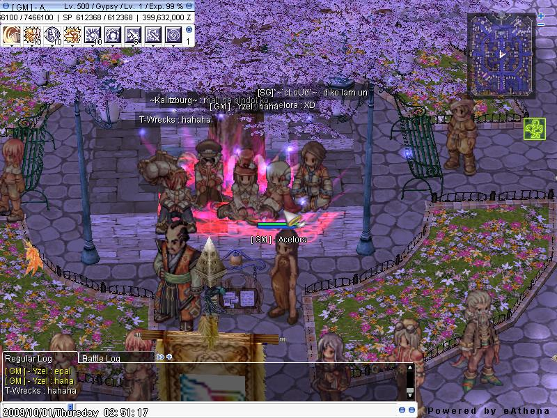 • Screen Shots of the server • Screen11