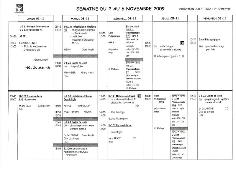 Emploi du temps - Semestre 1 - Page 2 Img11710