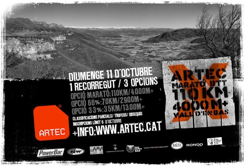 ARTEC Marató BTT Vall d'en Bas 11 octubre 2009 Artec_11