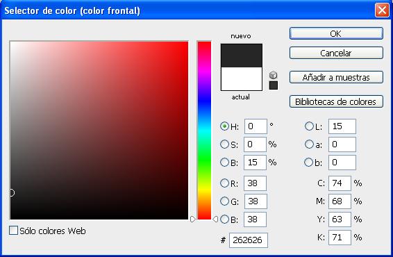 Efecto aros de colores con PHOTOSHOP 610