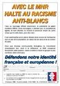Nouveau tract MNR : HALTE AU RACISME ANTI-BLANCS Mnr13