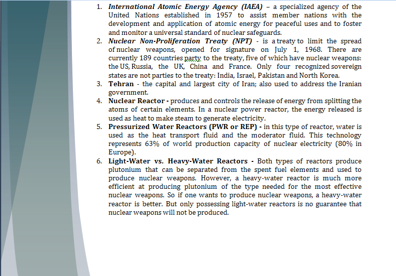 Middle East Study Guide - Question of Iranian Nuclear Program Iranpa15