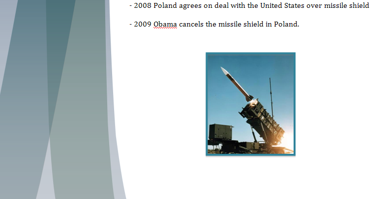 Europe Study Guide - Question of Polish Missile Shield Missil13