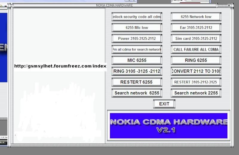 nokia cdma hardware 15x1v812