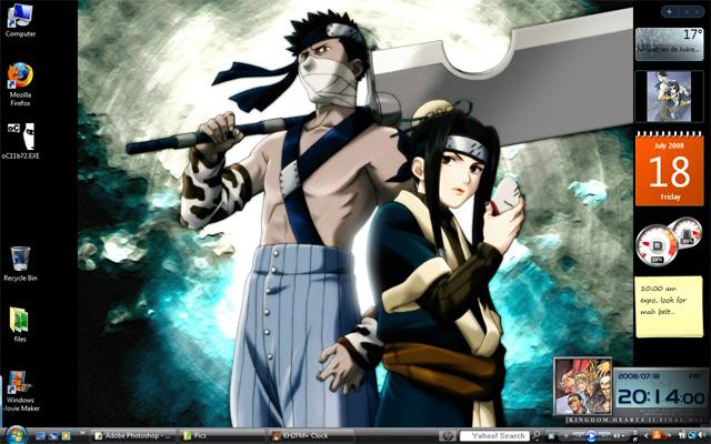 Post a screen shot of your desktop Naruto19