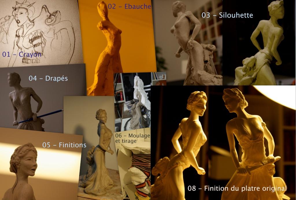 Médée : Platre (patine?) Modela10