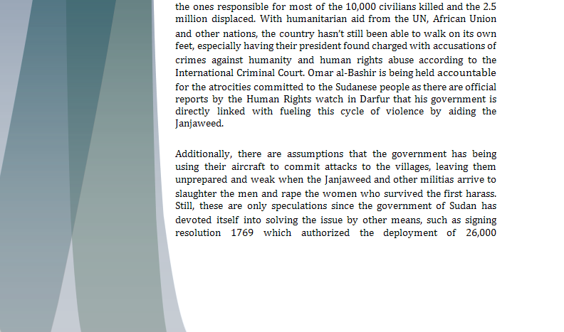 Security Council Study Guide - Question of Darfur Crisis Darfur11