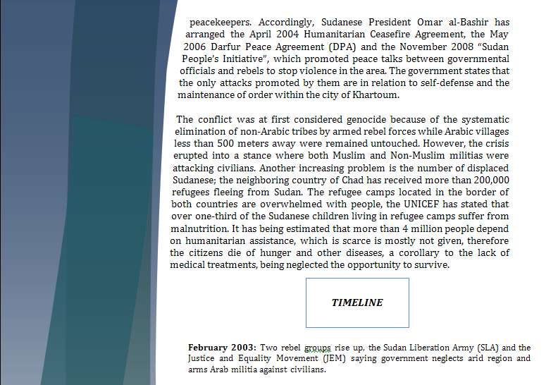 Security Council Study Guide - Question of Darfur Crisis Darfur12