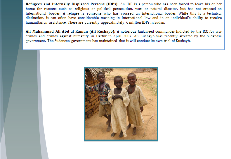 Security Council Study Guide - Question of Darfur Crisis Darfur20