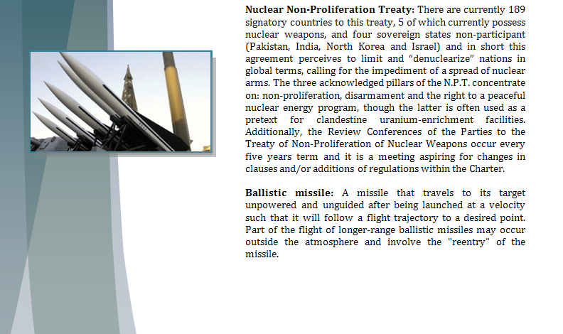 Study Guide Security Council - Question of North Korea's Nuclear Program Northk15