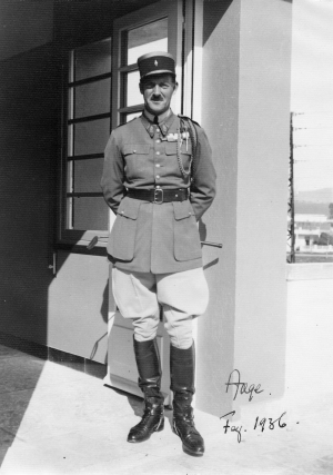 Le Prince Aage de Danemark, chef de bataillon à la Légion étrangère 21810