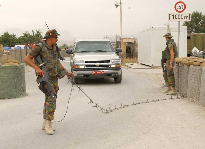 Les Paras-Commandos Belges en Afghanistan Index211