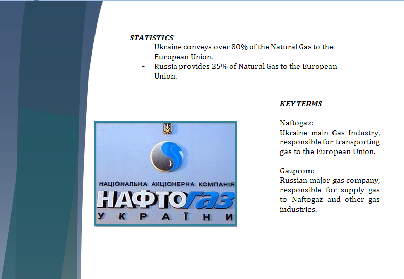 Europe Study Guide - Question of New Gas Agreement Gaspar14