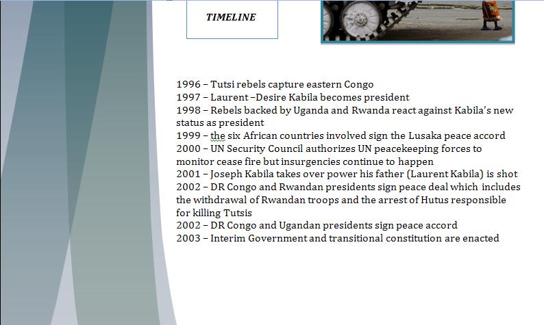 UNHCR Study Guide - Question of Congo's Humanitarian Crisis Congop13