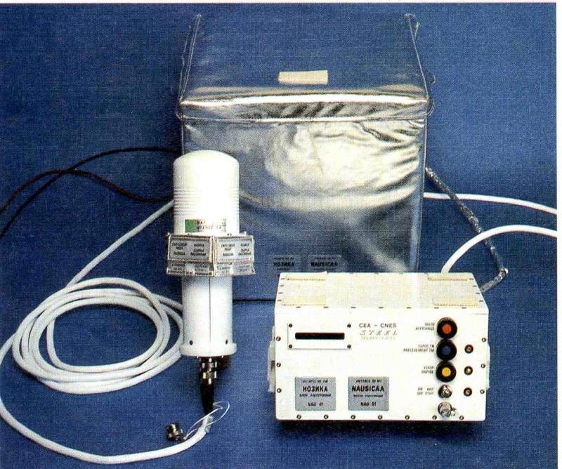 Dosimètres passifs et voyage en avion Nausic10